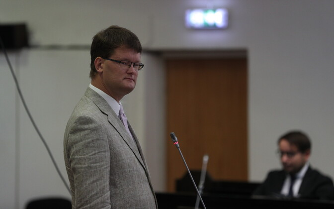 Priit Kutser in Harju County Court.