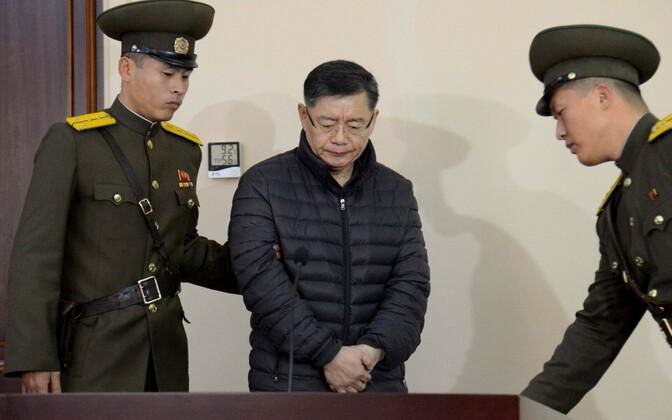 Kanada pastor Hyeon Soo-lim 2015. aasta detsembris Põhja-Korea kohtus.