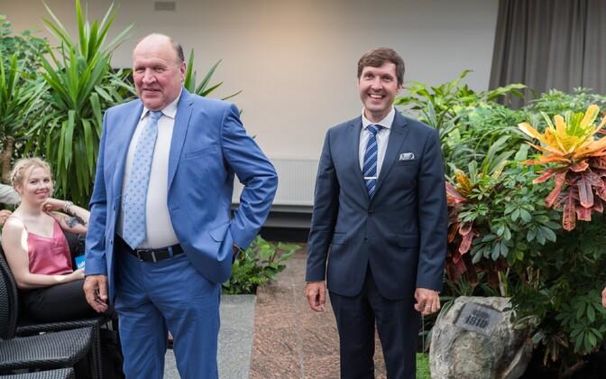 Лидеры EKRE Март и Мартин Хельме.