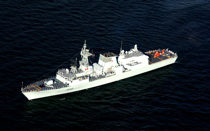 HMCS Charlottetown of the Royal Canadian Navy.