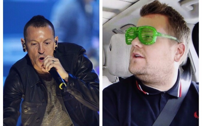 Chester Bennington ja James Corden