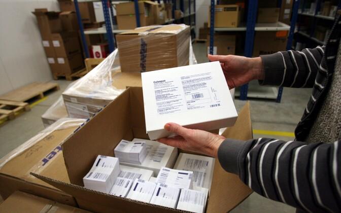2009. aasta detsembris jõudis esimene seagripi vastane vaktsiin just Oriola lattu Sauel.