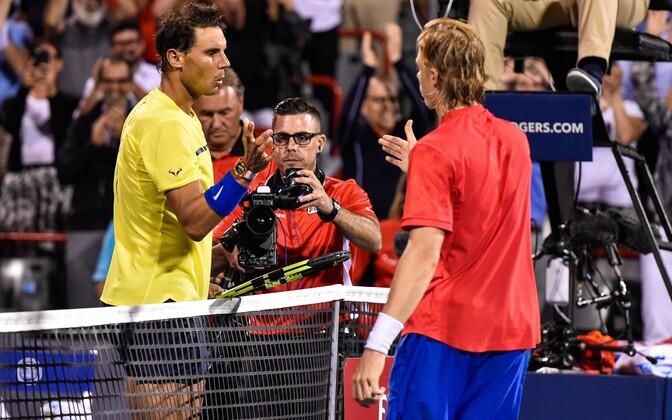 Rafael Nadal ja Denis Shapovalov