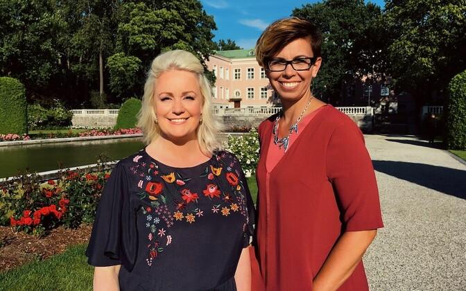 Anu Välba ja Karmel Killandi toovad suvise presidendi vastuvõtu ETV vaatajani.