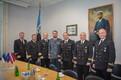 Standing NATO Mine Countermeasures Group 1 (SNMCMG1) arrives in Tallinn on Friday. Aug. 11, 2017.