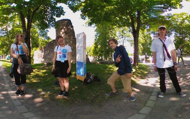 Noored Arvamusfestivalil