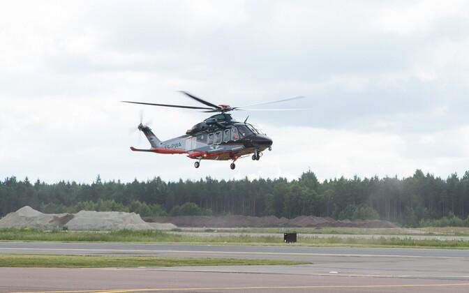 PPA helikopter Tallinnas, arhiivifoto.