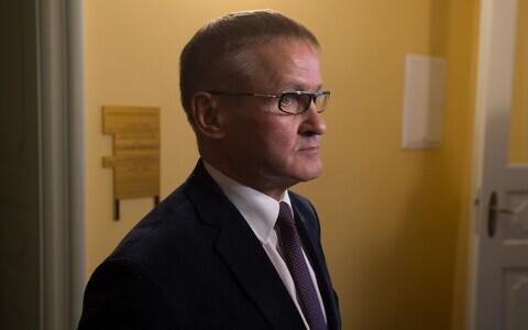 Riigihalduse minister Jaak Aab (Keskerakond).