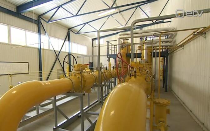 LNG gaasitorud.