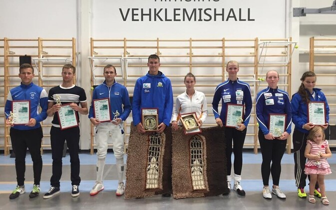 Valge Daami medalivõitjad