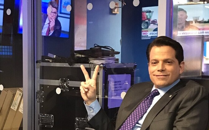 Anthony Scaramucci ABC Newsi stuudios.