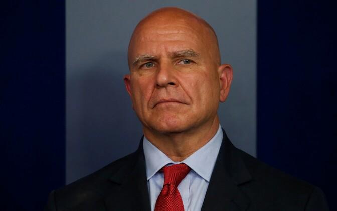 USA rahvusliku julgeoleku nõunik H.R. McMaster.