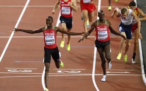 Meeste 1500 meetri jooksu finišilahendus
