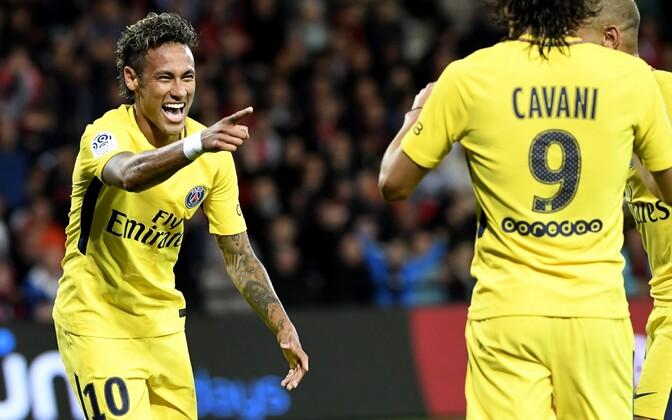 Neymar tegi PSG eest eduka debüüdi.