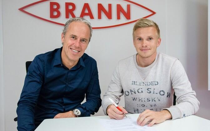 Taijo Teniste sõlmis Branniga lepingu.