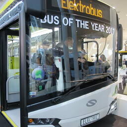 TLT will begin testing the fully electric Solaris Urbino 12 Electric bus this week. Photo is illustrative.