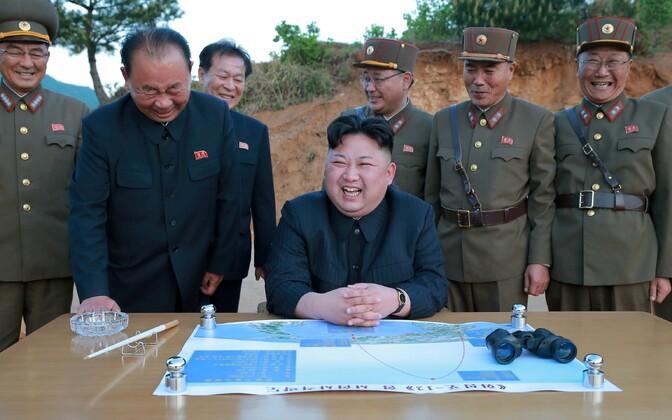 Põhja-Korea liider Kim Jong-un.
