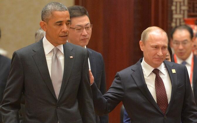 Obama ja Putin 2014. aasta novembris.