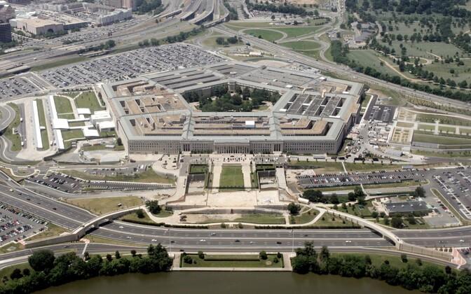 USA kaitseministeeriumi ehk Pentagoni hoone Washingtonis.