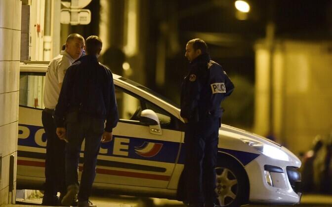 Prantsuse politseinikud.