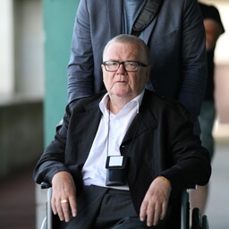 Edgar Savisaar's trial continued in Harju County Court on Tuesday. Aug. 15, 2017.