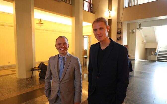 Taavi Pukk ja Raimond Kaljulaid