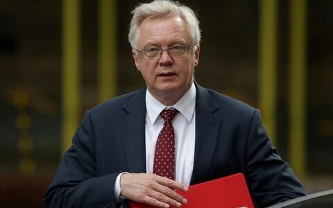 Brexiti-minister David Davis.