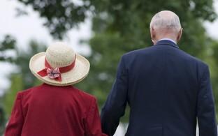 Pensionärid, arhiivifoto.