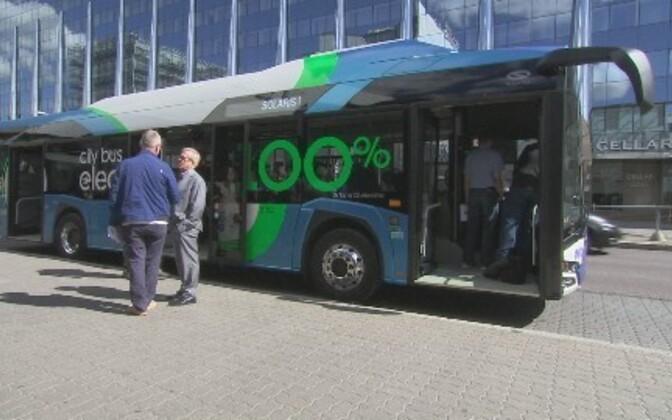 C 8 июня в Таллинне в тестовом режиме пассажиров будет перевозить электроавтобус.