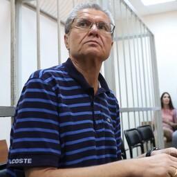 Eksminister Aleksei Uljukajev Moskvas kohtusaalis 16. augustil.