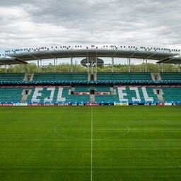 Lilleküla Stadium, or A. le Coq Arena, in Tallinn.