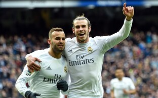 Jese Rodriguez (vasakul) ja Gareth Bale