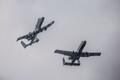Американские штурмовики A-10 приземлились в Курессааре