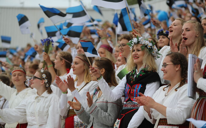 Singers worldwide will virtually join those at the Tallinn Song Festival Grounds for Sunday night's concert.