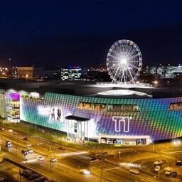 Pro Kapitali projekt, kaubandus- ja meelelahutuskeskus T1.