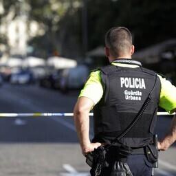 Politseinik Barcelonas.