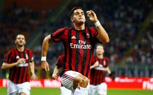 Andre Silva ja AC Milan