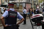 Полиция в Барселоне.