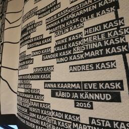 ERMi Jakob Hurda saali kaunistuseks välja valitud Eve Kase ja Anna Kaarma loodud teos algnimega
