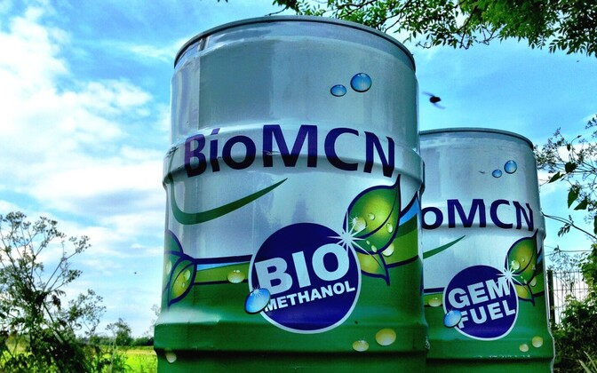 Värmlandsmetanol AB производит биометанол для автомобилей из отходов древесины.