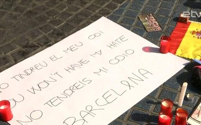 Барселона после теракта