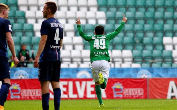 Tallinna FC Flora - Paide Linnameeskond / Zakaria Beglarashvili