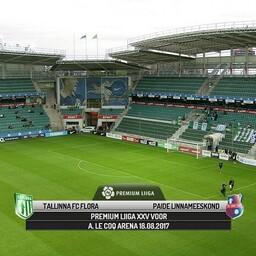 Tallinna FC Flora - Paide Linnameeskond
