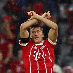 Müncheni Bayerni kolmanda värava autor Robert Lewandowski