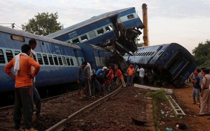 Rongiõnnetus Indias