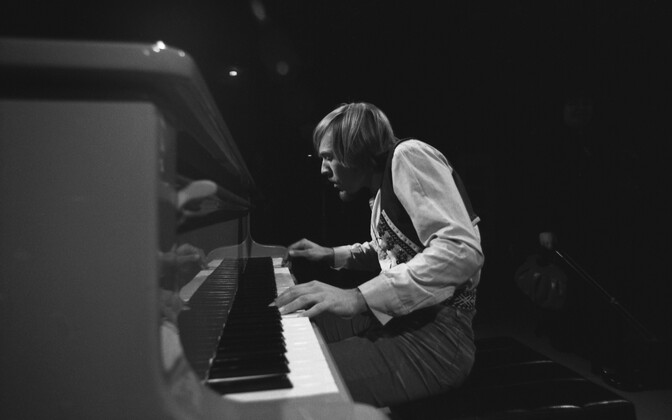 Pianist Rein Rannap, ansambel Ruja. 1981
