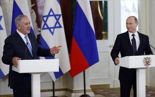 Benjamin Netanyahu ja Vladimir Putin