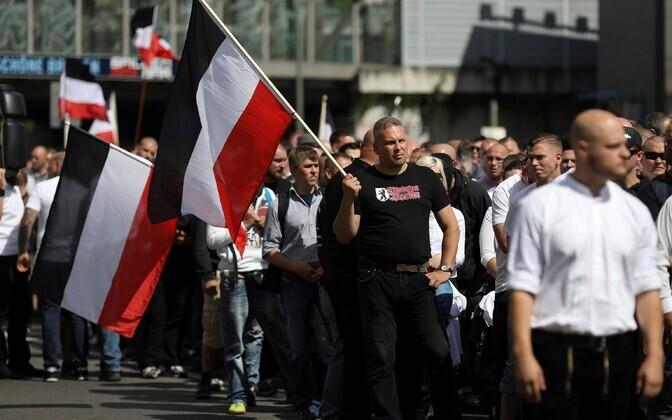 Uusnatside marss Berliinis.