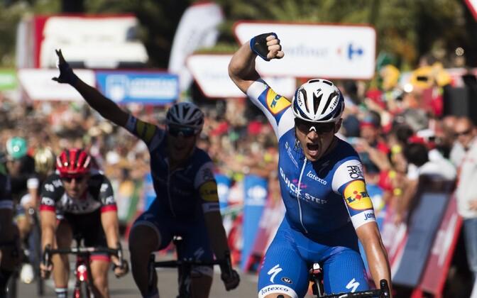 Vuelta teise etapi võitis Yves Lampaert