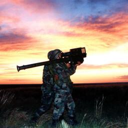 Stingeri kasutamine õppusel New Mexicos 1999. aastal.